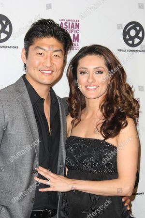 Brian Tee and wife Mirelly Taylor