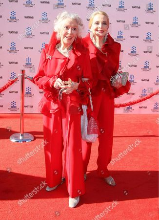 Stock Photo of Ann Rutherford and Anne Jefferys