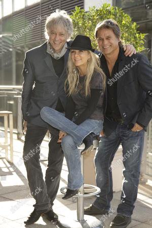 Sir Bob Geldof, Danielle Spencer and Jon Stevens