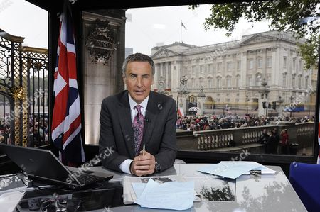 Sky News Coverage of the Roayal Wedding from Buckingham Palace - Dermot Murnaghan