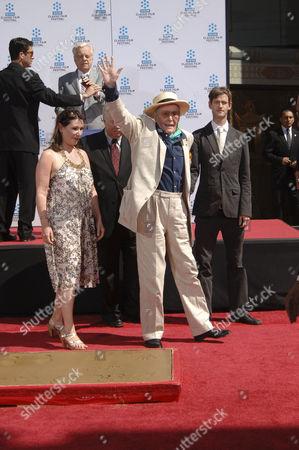 Peter O'Toole, daughter Kate O'Toole & son Lorcan O'Toole