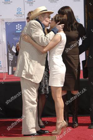 Peter O'Toole & Rose McGowan