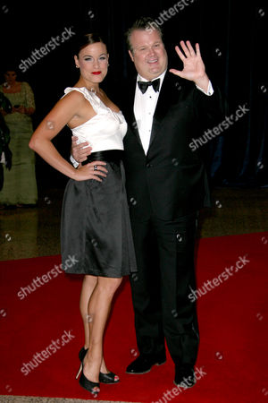 Stock Image of Eric Stonestreet and his wife Katherine Tokarz