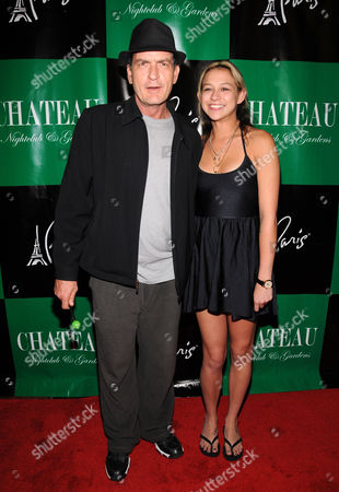 Editorial photo of Charlie Sheen hosts an evening at Chateau Nightclub and Gardens, Las Vegas, America - 30 Apr 2011