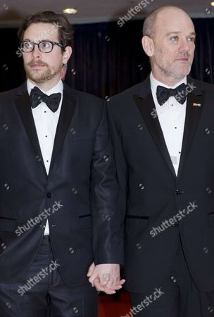 Thomas Dozol and Michael Stipe
