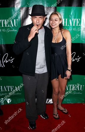 Editorial image of Charlie Sheen hosts an evening at Chateau Nightclub and Gardens, Las Vegas, America - 30 Apr 2011