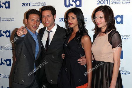 Stock Photo of Mark Feuerstein, Paulo Constanzo, Reshma Shetty, Jill Flint