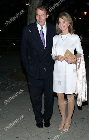 Charlie Rose and Amanda Burden