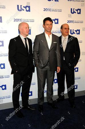 Chris McCumber, Jeffrey Donovan, Jeff Wachtel
