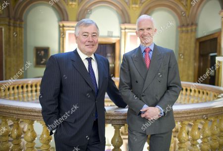 BAA chairman Sir Nigel Rudd and Private equity veteran Stephen Welton, who head up the UK banks' new £2.5bn Growth Fund, which will invest in growing UK companies.