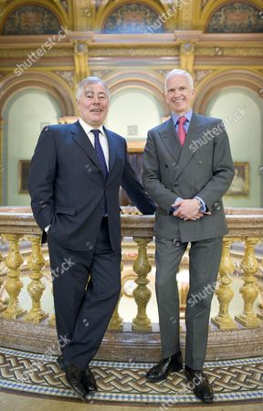 Stock Picture of BAA chairman Sir Nigel Rudd and Private equity veteran Stephen Welton, who head up the UK banks' new £2.5bn Growth Fund, which will invest in growing UK companies.