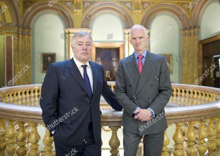 Editorial image of Sir Nigel Rudd and Stephen Welton, London, Britain - 29 Mar 2011