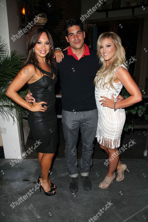 Cheryl Burke, Michael Catherwood and Lacey Schwimmer