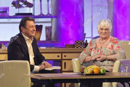 Stock Picture of Presenter Alan Titchmarsh and Rosemary Penfold