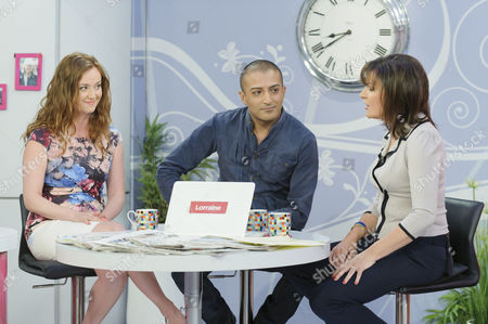 Martell Maxwell and Adil Ray with Presenter Lorraine Kelly