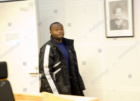 Editorial picture of Chileshe Chibwe at the Lapland District Court in Rovaniemi, Finland - 18 Mar 2011