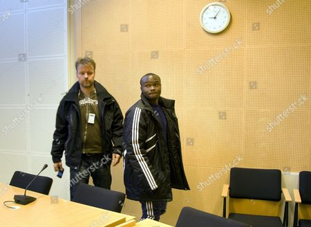 Editorial image of Chileshe Chibwe at the Lapland District Court in Rovaniemi, Finland - 18 Mar 2011