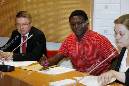 Editorial image of Dominic and Donewell Yobe match-fixing case, Oulu, Finland - 28 Apr 2011