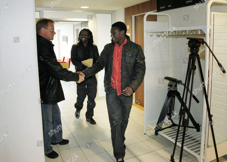 Editorial photo of Dominic and Donewell Yobe match-fixing case, Oulu, Finland - 28 Apr 2011