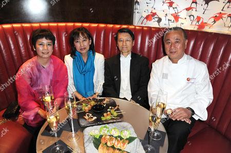 Japan's ambassador Keiichi Hayashi with Matsuhisa Nobuyuki