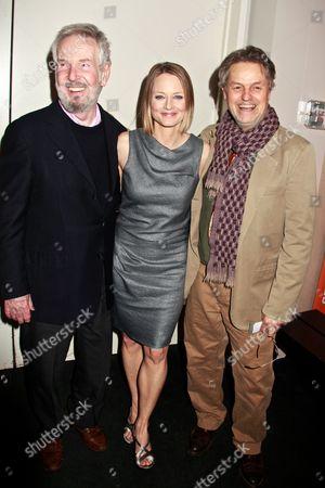 Robert Benton, Jodie Foster and Jonathan Demme