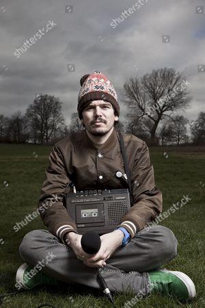 Editorial photo of Stephen Wilkinson aka Bibio on Hampstead Heath, London, Britain - 11 Mar 2011