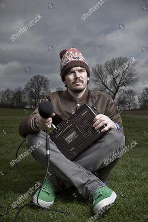 Editorial picture of Stephen Wilkinson aka Bibio on Hampstead Heath, London, Britain - 11 Mar 2011
