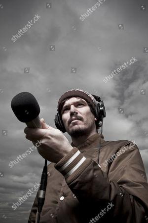 Editorial image of Stephen Wilkinson aka Bibio on Hampstead Heath, London, Britain - 11 Mar 2011