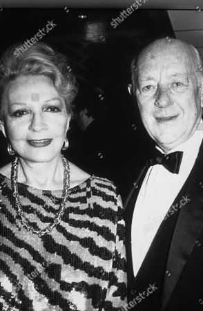 ALEC GUINNESS AND CORAL BROWNE - 1987