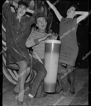 Theatrical Musical 'expresso Bongo' James Kenney With Jan Arnold And Anna Sharkey