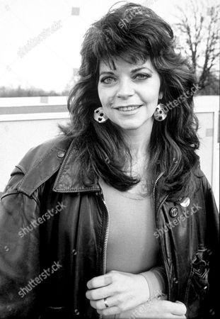 Stock Image of RENATE BLAUEL, EX-WIFE OF ELTON JOHN