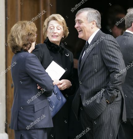Gerald Grosvenor, The Duke of Westminster (R) and guests