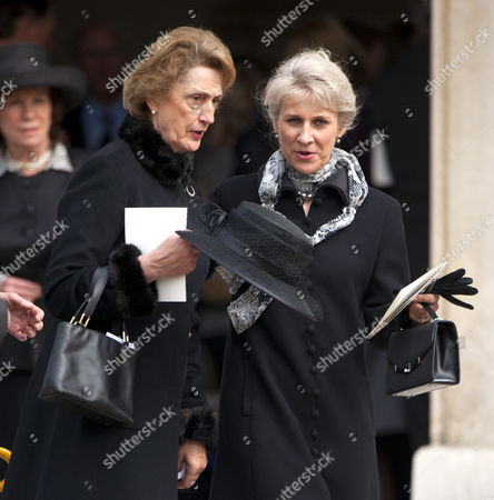 Editorial image of The funeral of Lady Georgina Kennard, Royal Hospital, Chelsea, London, Britian - 05 May 2011
