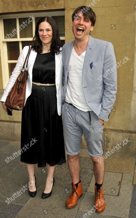 Alex James and wife Claire Neate