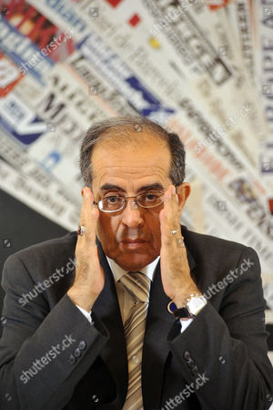 Editorial picture of Libyan National Council press conference, Rome, Italy - 05 May 2011