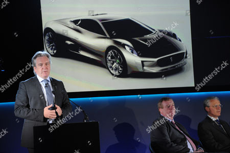 Stock Picture of Adrian Hallmark, Global Brand director of Jaguar