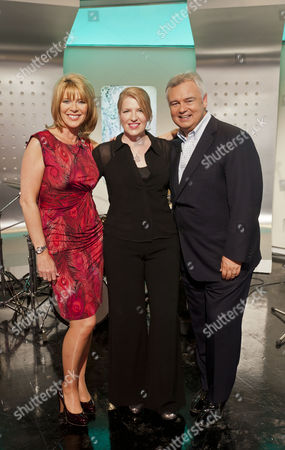 Ruth Langsford, Clare Teal and Eamonn Holmes