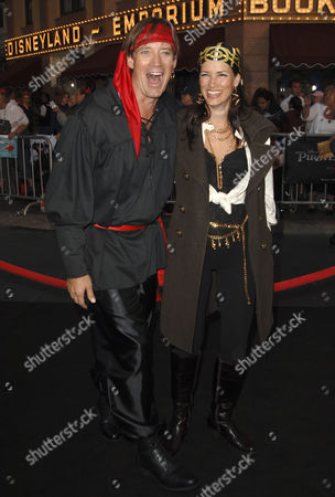Kevin Sorbo and wife Sam Jenkins