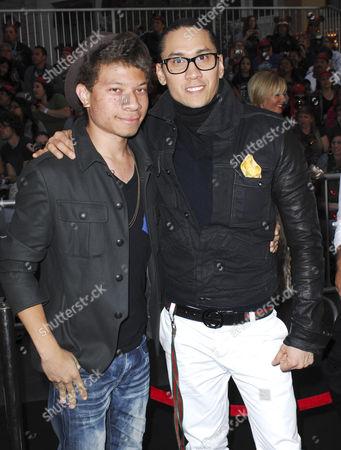 Taboo with his son Joshua Gomez