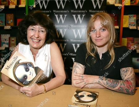 Geraldine McCaughrean and Jana Diemberger