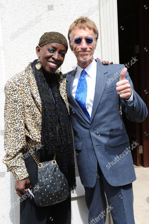 Stock Image of Madeline Bell and Robin Gibb