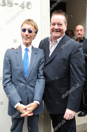 Robin Gibb and Bobby Crush