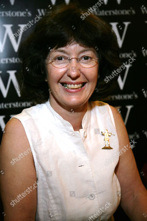 Editorial image of Geraldine McCaughrean 'Monacello The Little Monk' Book signing at Waterstones, Oxford, Britain - 07 May 2011