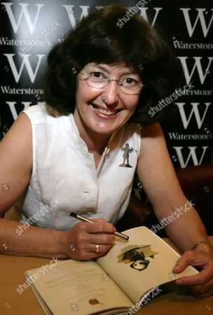 Editorial photo of Geraldine McCaughrean 'Monacello The Little Monk' Book signing at Waterstones, Oxford, Britain - 07 May 2011