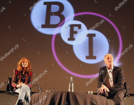 Stock Picture of Isabelle Huppert and Geoff Andrews