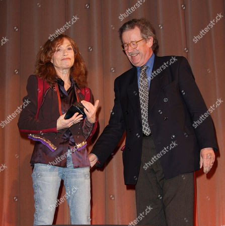 Isabelle Huppert and Christopher Frayling