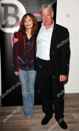 Stock Image of Isabelle Huppert and Geoff Andrews