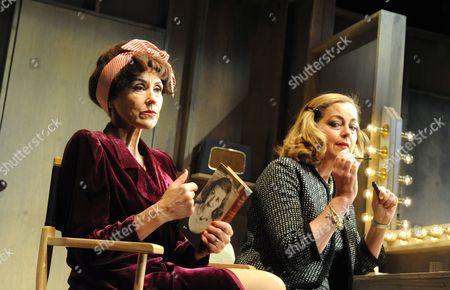 Anita Dobson (Joan Crawford) and Greta Scacchi (Bette Davis)