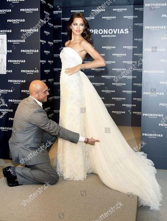 Manuel Mota and Irina Shayk