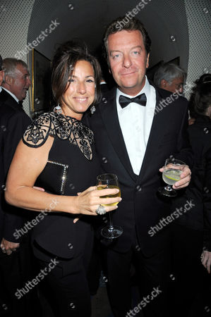 Stock Picture of Maxine Leslau and Mark Steinberg